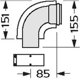 VAILLANT BOCHT 90° DIAM. 60/100 img
