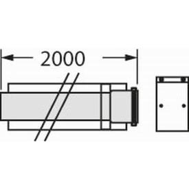 VAILLANT VERLENGSTUK 2 METER DIAM. 60/100 img