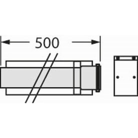 VAILLANT VERLENGSTUK 0,5 METER DIAM. 60/100 img