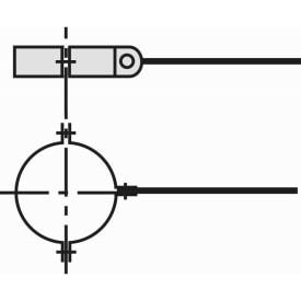 VAILLANT MONTAGEBEUGEL 5 STUKS (1 PER METER) DIAM. 80/125 img