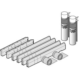 VIB METALRIM INSTALLATIESET VOOR KLEINE MATEN (800X800 - 1000X1000) HOOGTE VERSTLB 135-155MM img