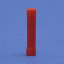 HAUPA STOOTVERBINDER PVC 0.5-1MM2    22.7 MM ROOD img