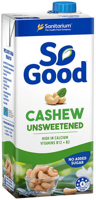 So Good Cashew Milk Unsweetened