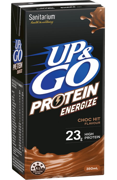 UP&GO™ Protein Energize Choc Flavour 350ml