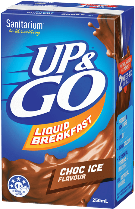 UP&GO Choc Ice Flavour