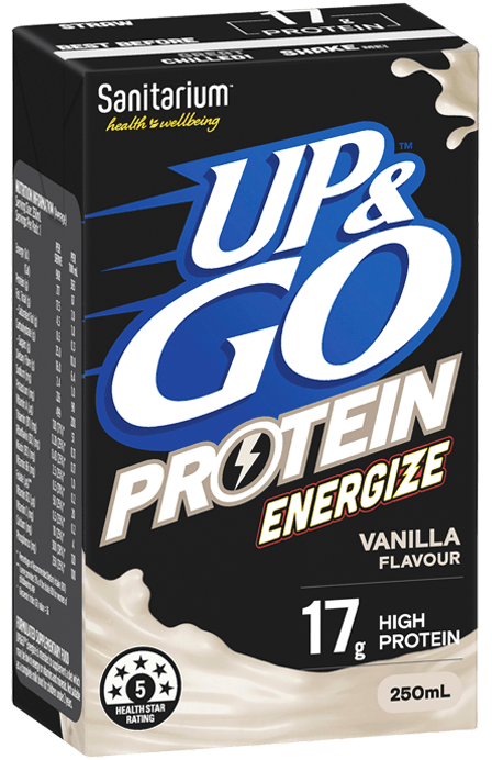 UP&GO™ Protein Energize Vanilla Flavour