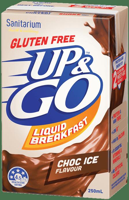 UP&GO Gluten Free Choc Ice Flavour