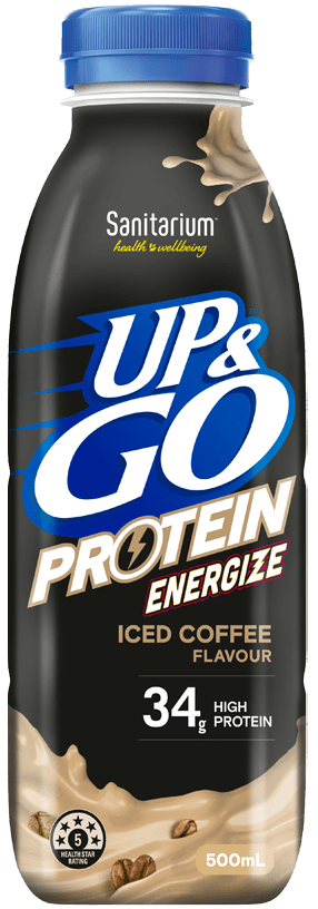 UP&GO™ Protein Energize Iced Coffee Flavour Bottle