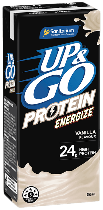 UP&GO™ Protein Energize Vanilla Flavour 350ml