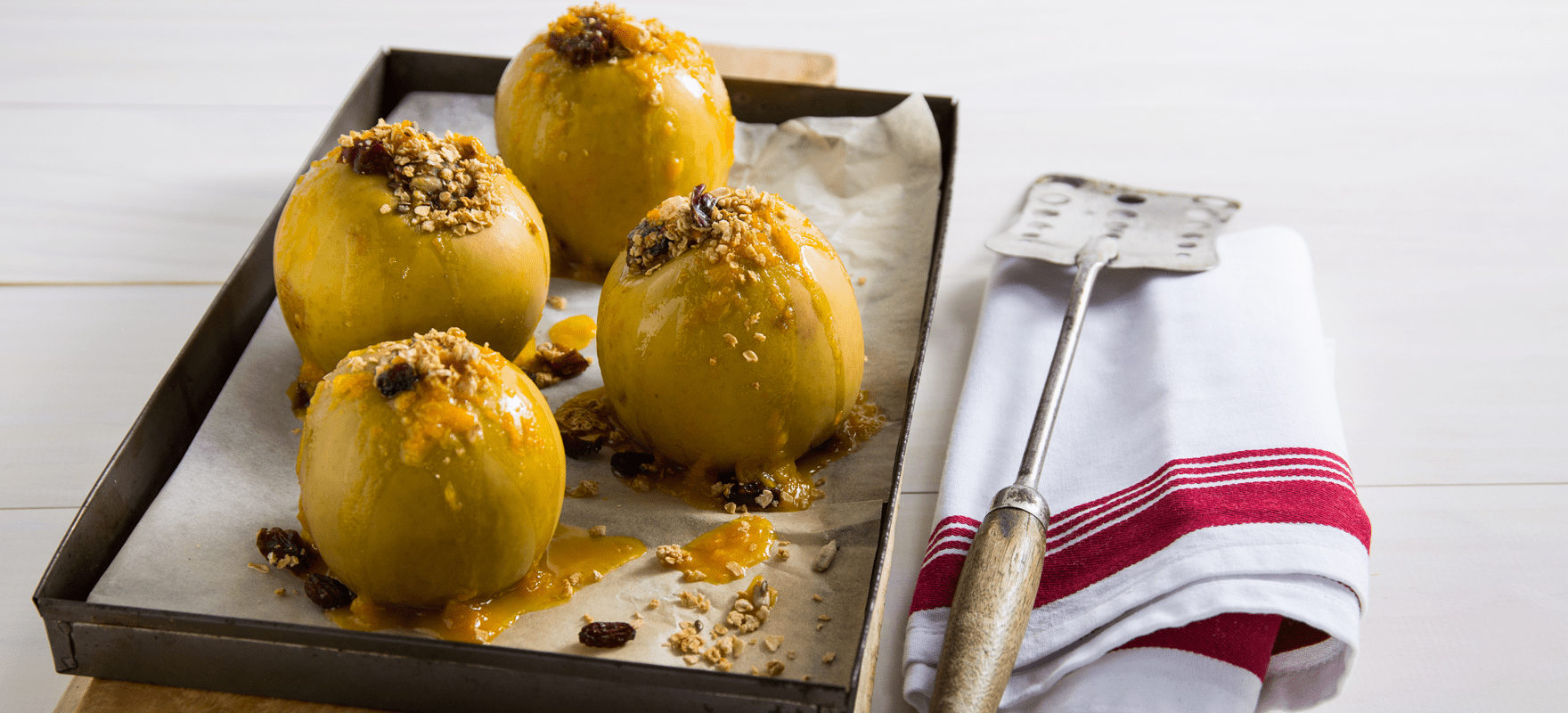Oat Stuffed Baked Apples Sanitarium Health Food Company