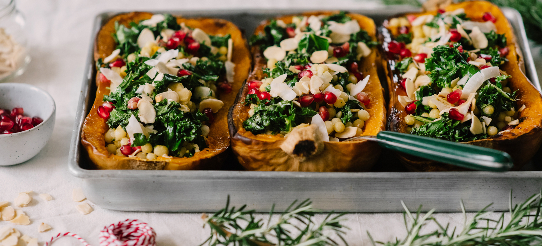 Couscous Stuffed Butternut Pumpkins Sanitarium Health Food Company