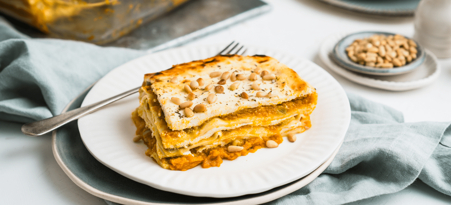Ricotta And Pumpkin Lasagne Sanitarium Health Food Company