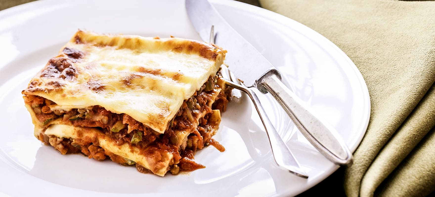 Curried Vegetable And Lentil Lasagne Sanitarium Health Food Company