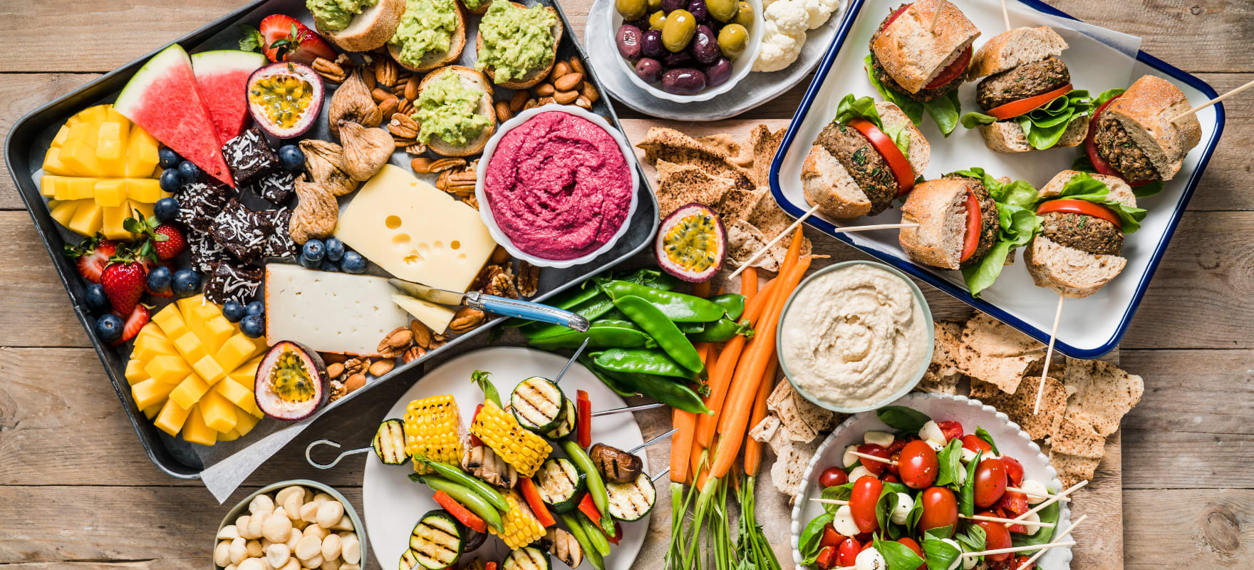 Summer Bbq Grazing Platter Sanitarium Health Food Company