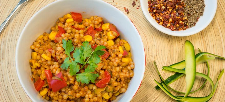 Moroccan Pearl Couscous Pilaf Sanitarium Health Food Company