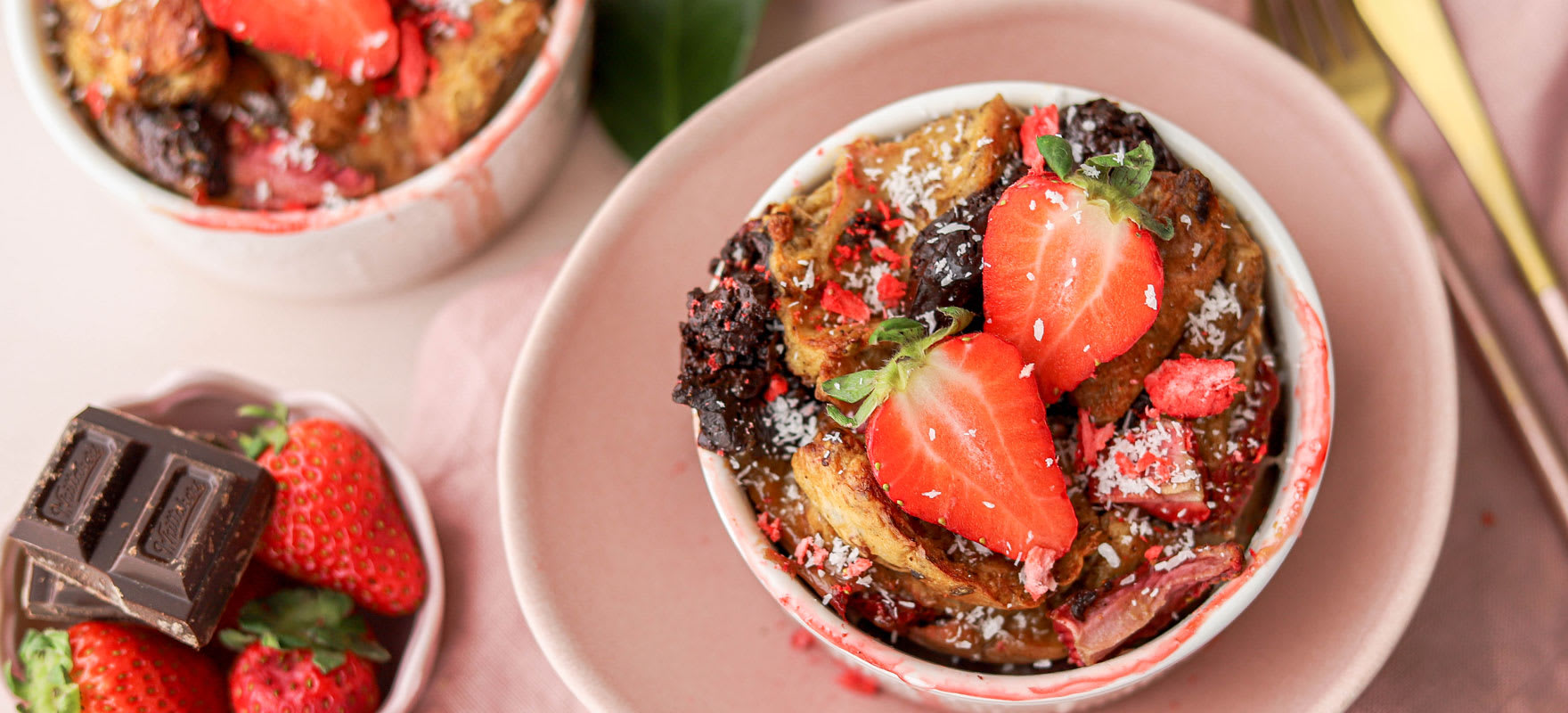 Choc-berry baked french toast image 1