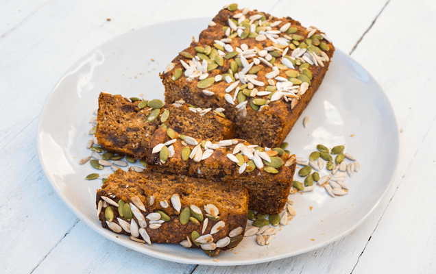 Seeded date loaf image 1