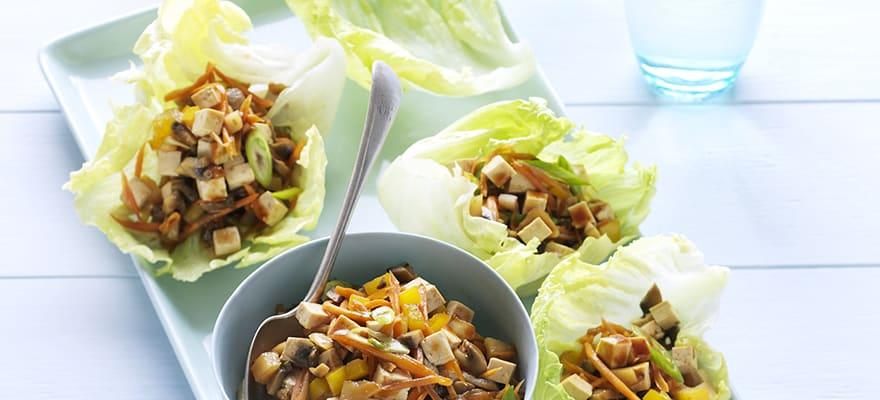 Tofu san choy bau image 1