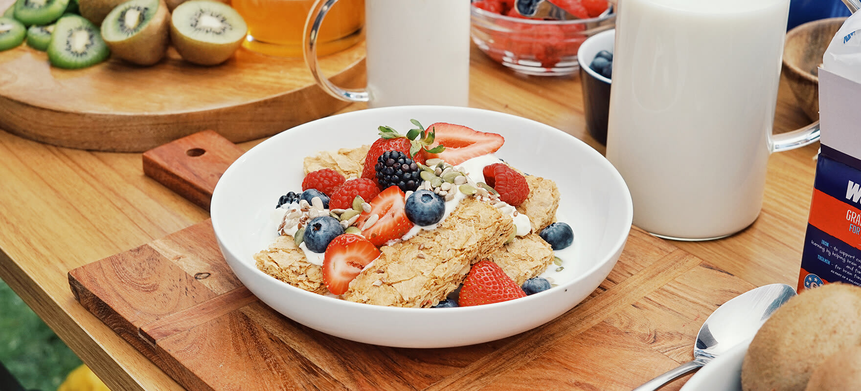 All Blacks Favourite - Weet-Bix™ Strawberries & Berries image 1
