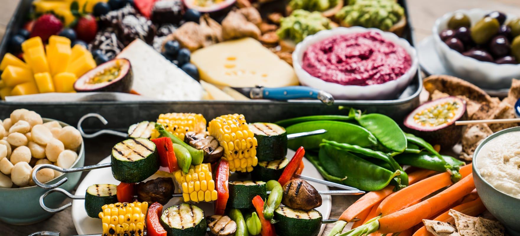 Summer BBQ grazing platter image 2