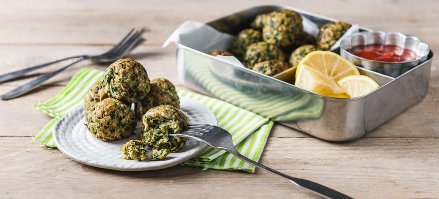 Gluten Free Weet-Bix™ Spinach Balls image 1