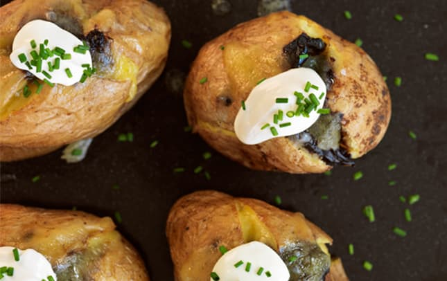 Marmite™ baked potatoes image 1