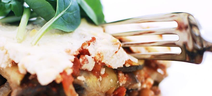 Vegetarian moussaka image 1
