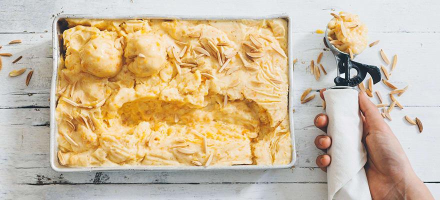 Apricot tofu ice-cream image 2