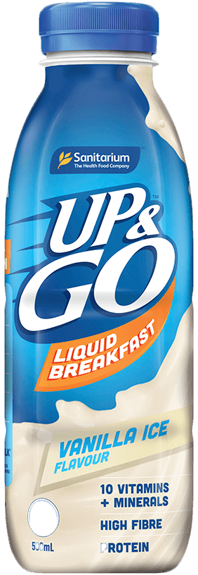 UP&GO™ Vanilla Ice Flavour