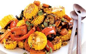 Roast vegetable salad image 1