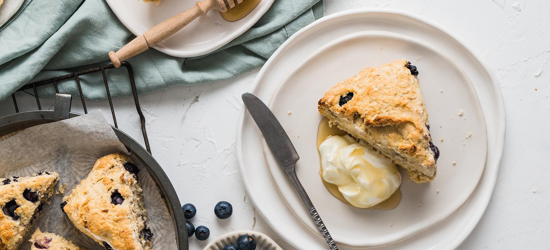 Blueberry scones image 1