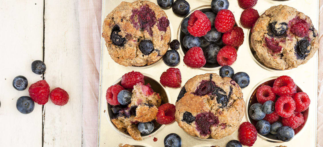 Berry muffins image 1