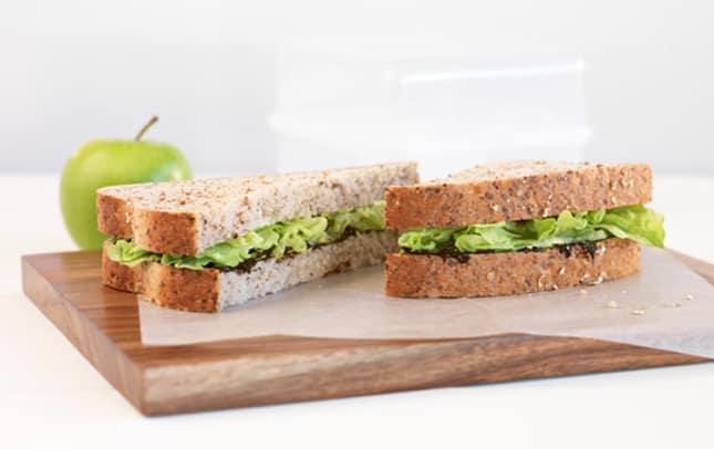 Marmite™ and lettuce sandwich image 1