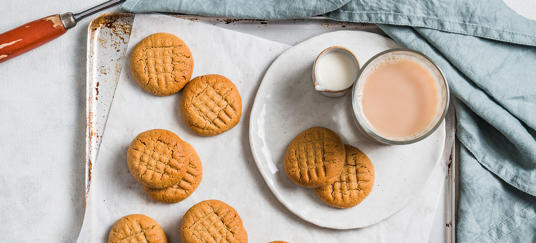 Quick & easy peanut butter cookies image 1