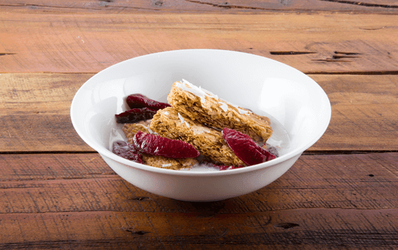 Weet-Bix™ with plum and coconut image 1