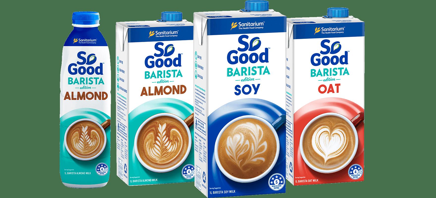 Barista milks