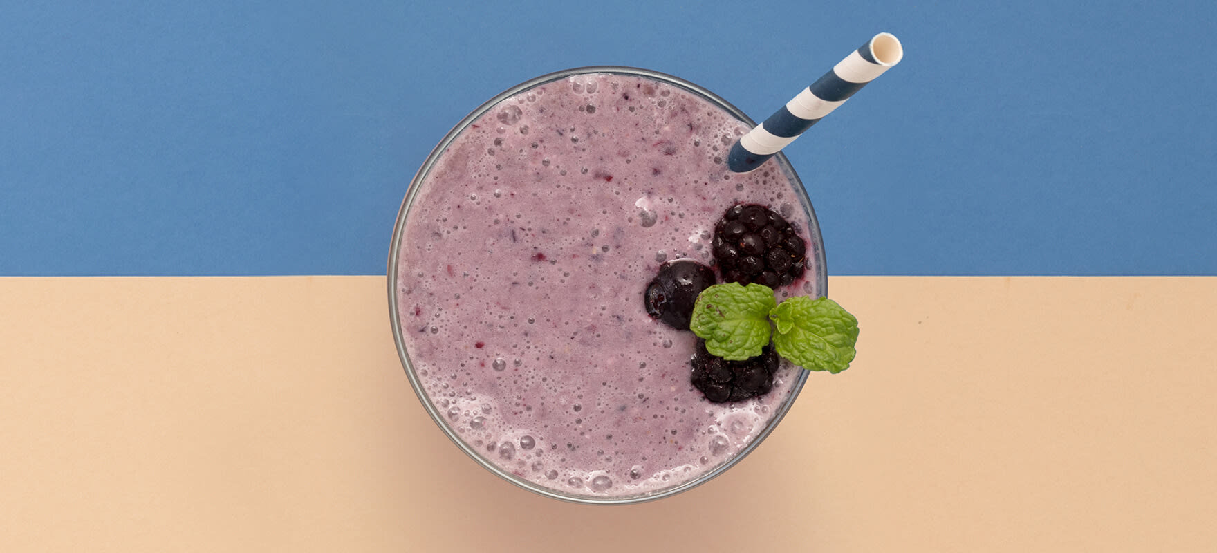 So Good berry & oat smoothie image 1