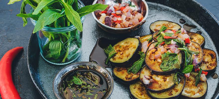 Asian fried eggplant image 1