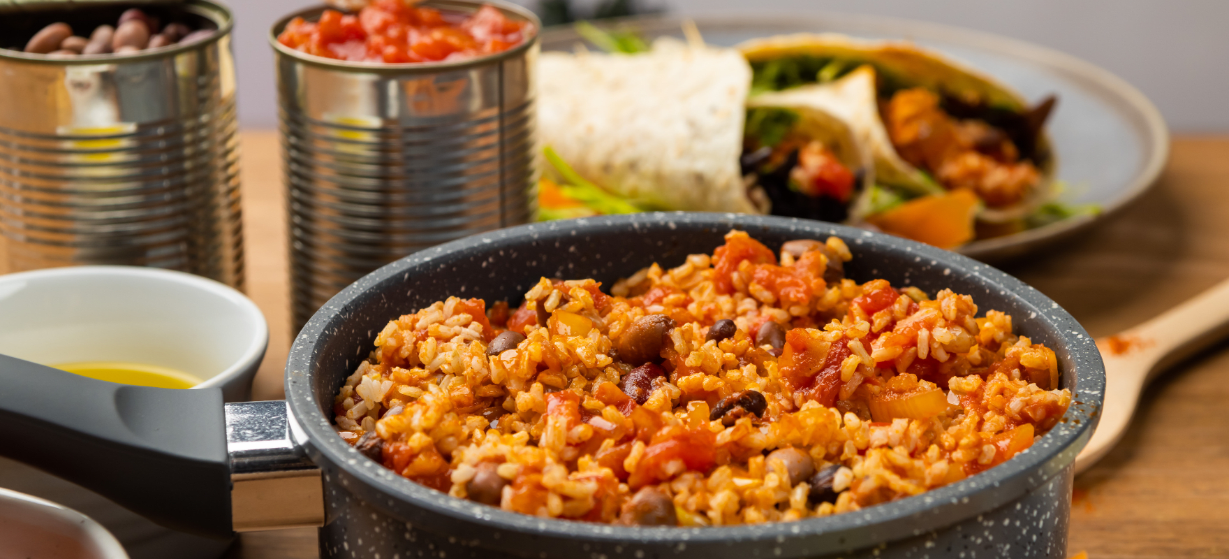 One pot beans and rice image 1