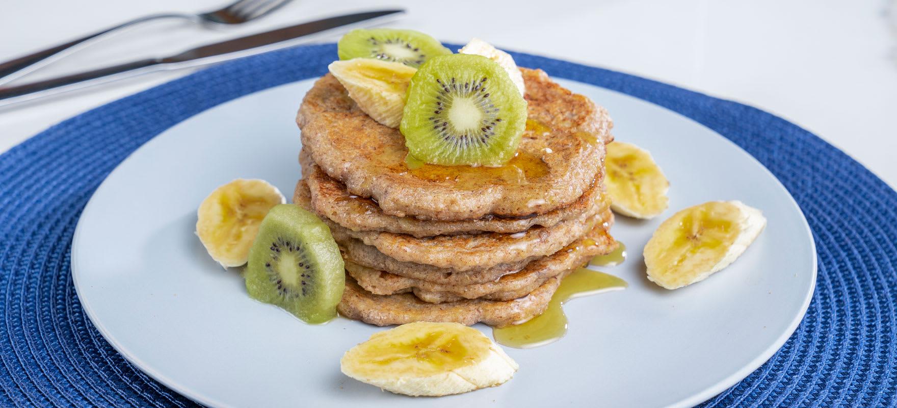 Gluten free Weet-Bix™ and banana pancakes image 1