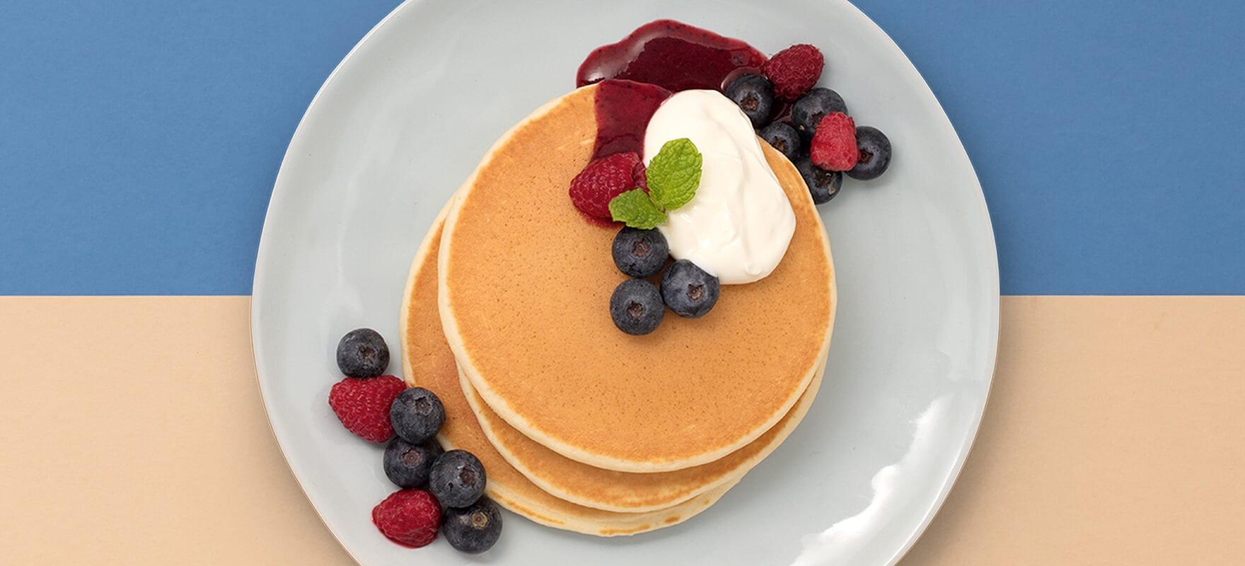 Oat milk pancakes image 1