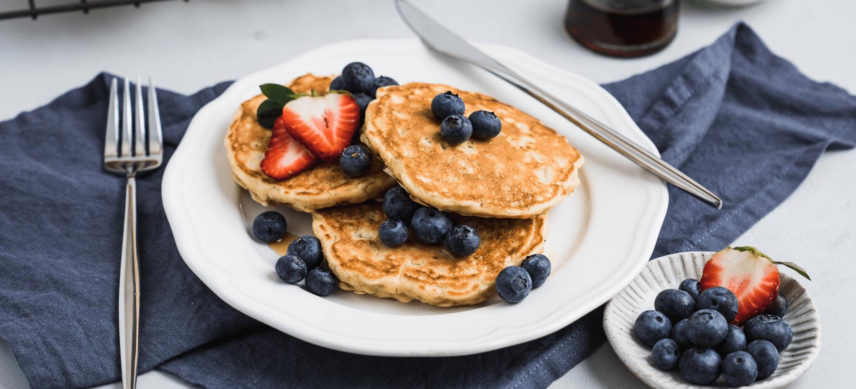 Oat pancakes image 1
