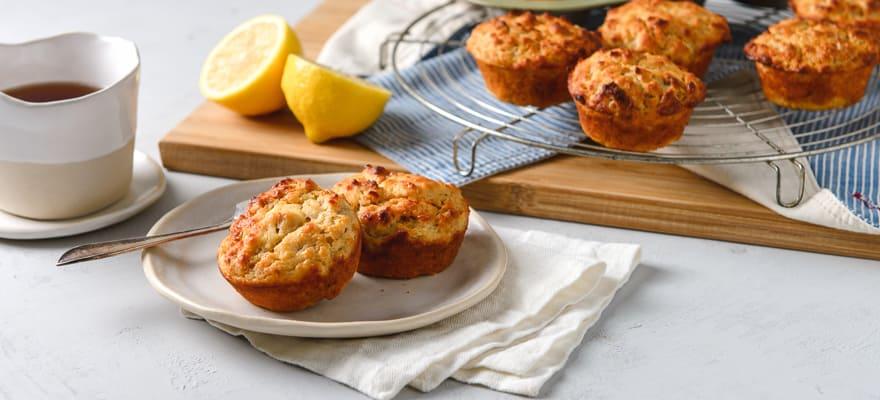 Lemon Bix & Yoghurt Muffins image 1