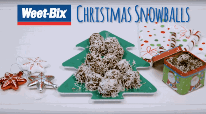 Weet-Bix™ Christmas snowballs image 1