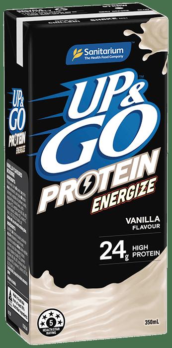 UP&GO™ Protein Energize Vanilla Flavour 350ml