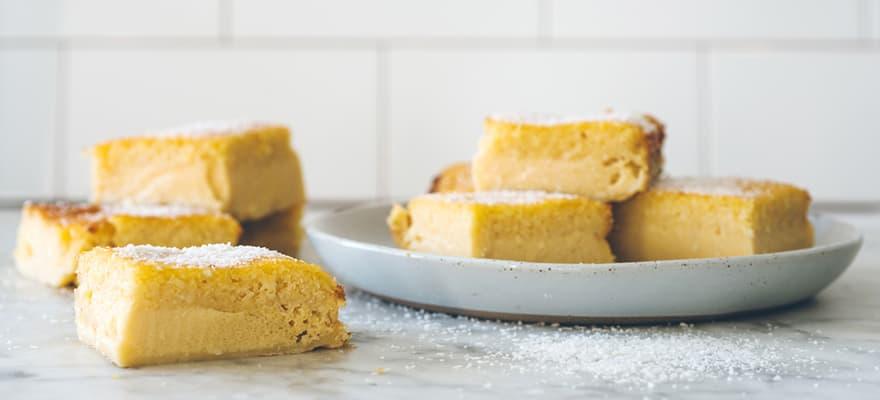 Coconut custard pudding image 1