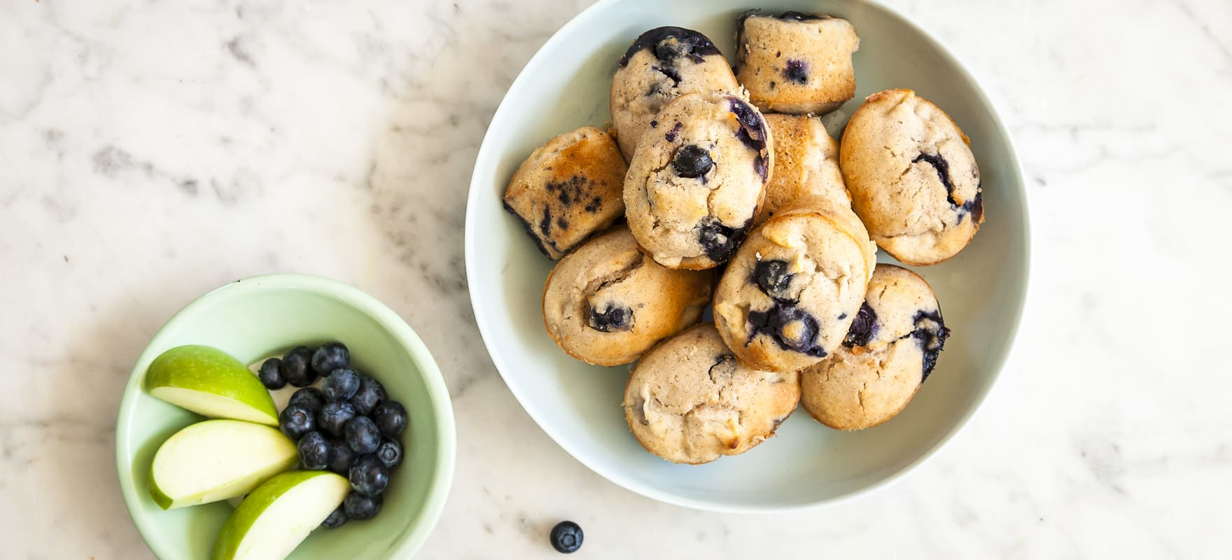 Apple blueberry friands image 1