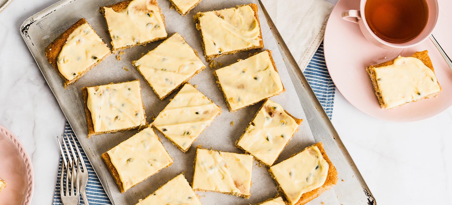 Lemon passionfruit Weet-Bix™ slice image 2