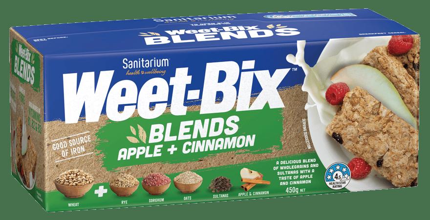 Weet-Bix™ Blends Apple + Cinnamon