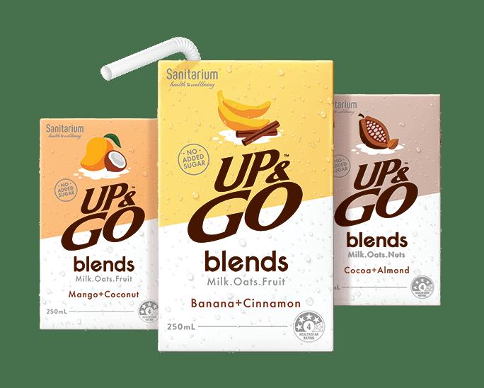 UP&GO™ blends